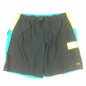 OP Swim Trunks Size XL(40-42) Liner Elastic Waist